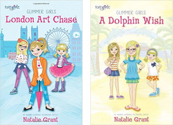 Glimmer Girls: London Art Chase / A Dolphin Wish