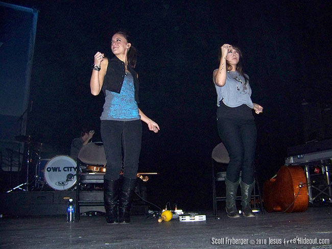 Jesusfreakhideout com Concert Reviews and Photos: Owl City
