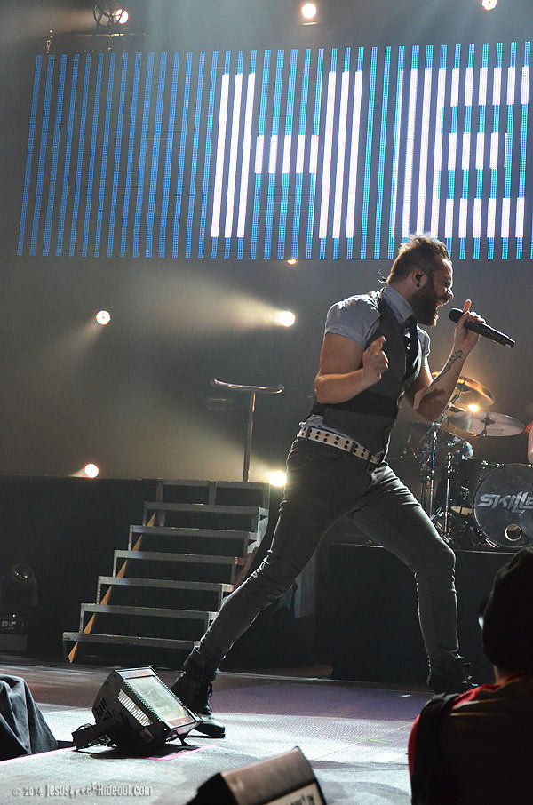 The JFH Concert Reviews and Dates: Third Day Skillet Spring Tour 2014