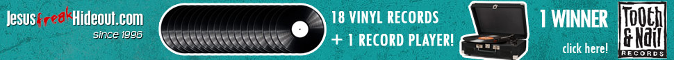 Enter to win a massive vinyl starter kit from JFH and Tooth & Nail!