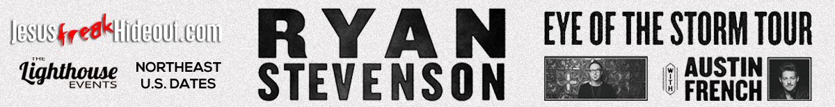 Get Tickes for Ryan Stevenson's Eye Of The Storm Tour!