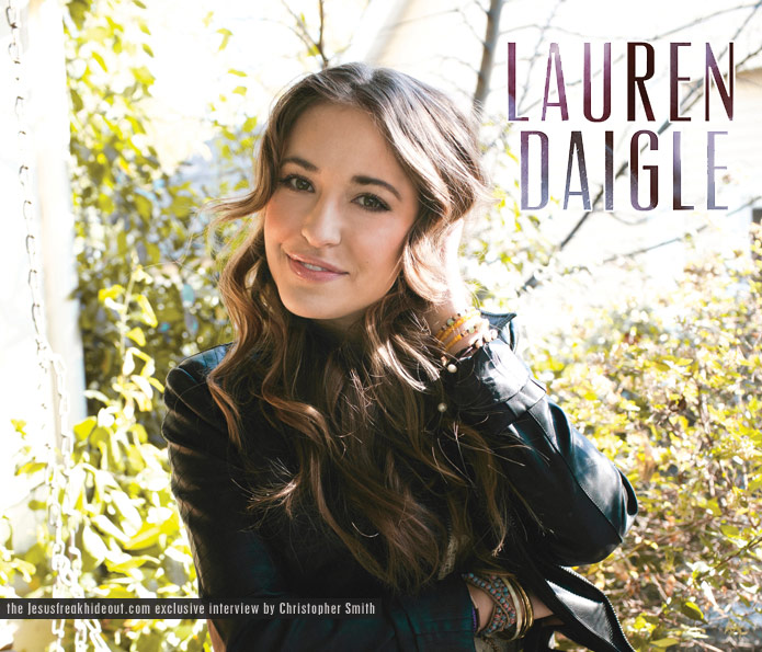centricity musics lauren daigle has made some waves with her hit song how can it be and with her first full length album just a couple weeks away from