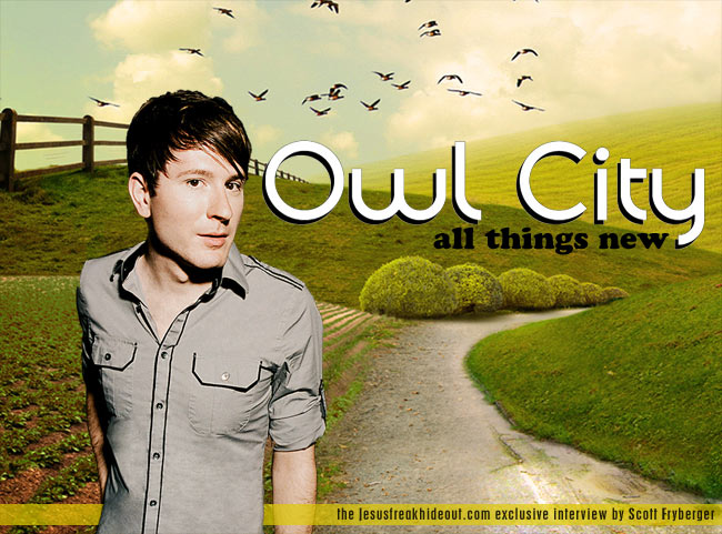 Owl City Interview, Owl City 2011, Adam Young