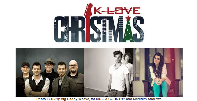 Who Is The Minster At The 2020 Klove Christmas Tour Jesusfreakhideout.Music News, September 2013: 25 ENTERTAINMENT