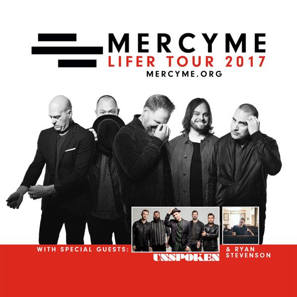 Lifer Mercyme: JFH News: Multi-Platinum Selling MercyMe Announces East
