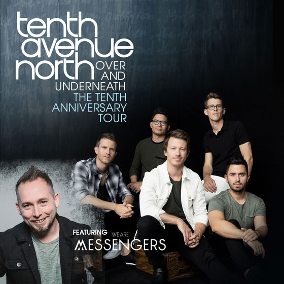Jfh News Announcing Tenth Avenue North S Over And