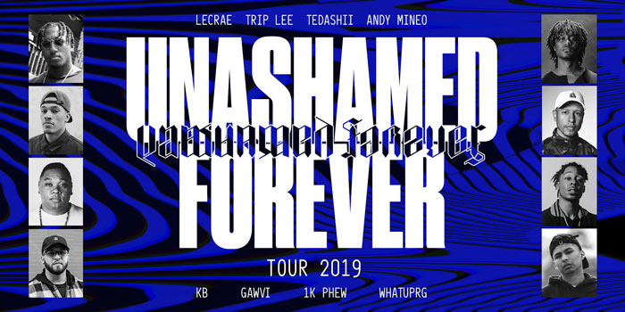 JFH News: Tickets Available Now for Unashamed Tour Featuring