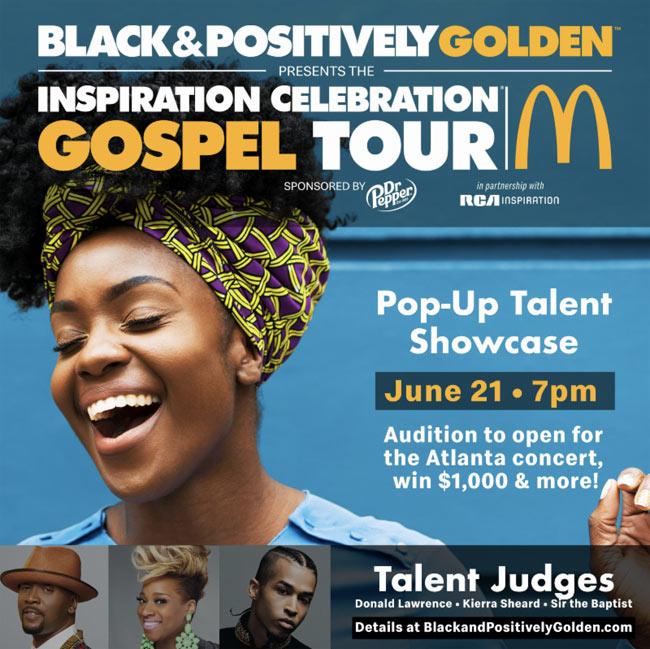 JFH News: RCA Inspiration and McDonalds Team Up for Gospel