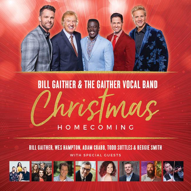 JFH News: Gospel Music Legend Bill Gaither Announces Cities