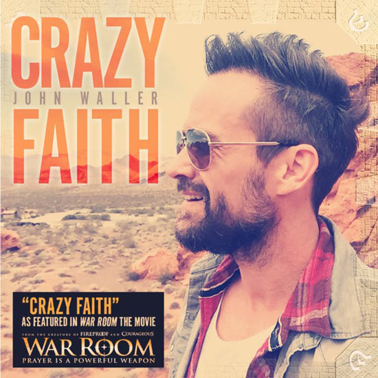 Jfh News John Waller Releases New Album Quot Crazy Faith