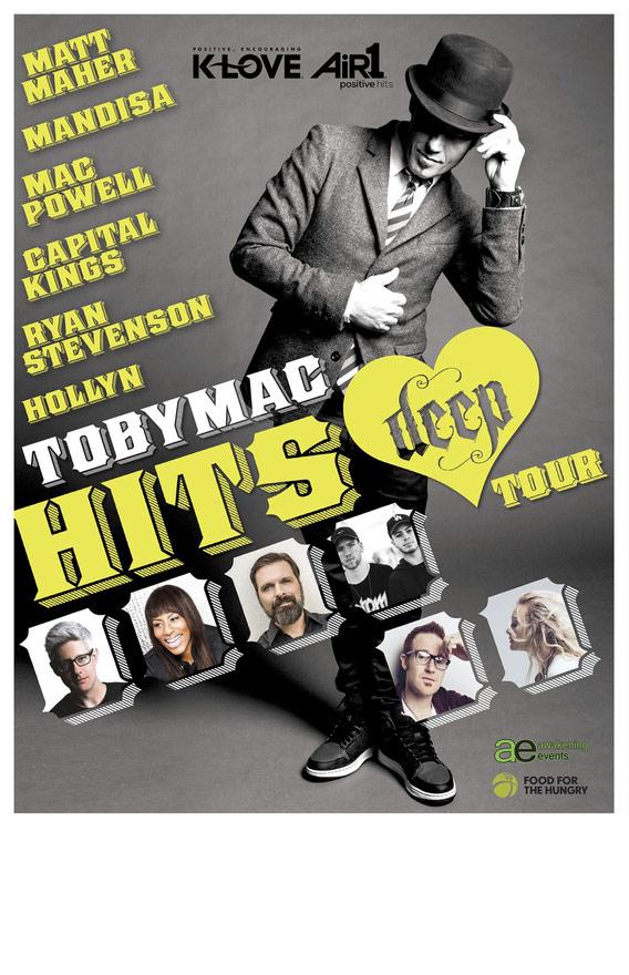 Tobymac hits deep tour dates