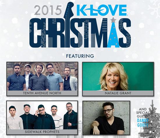 Klove Christmas Tour 2020 Indiana JFH News: Tenth Ave, Natalie Grant, Sidewalk Prophets Join K LOVE
